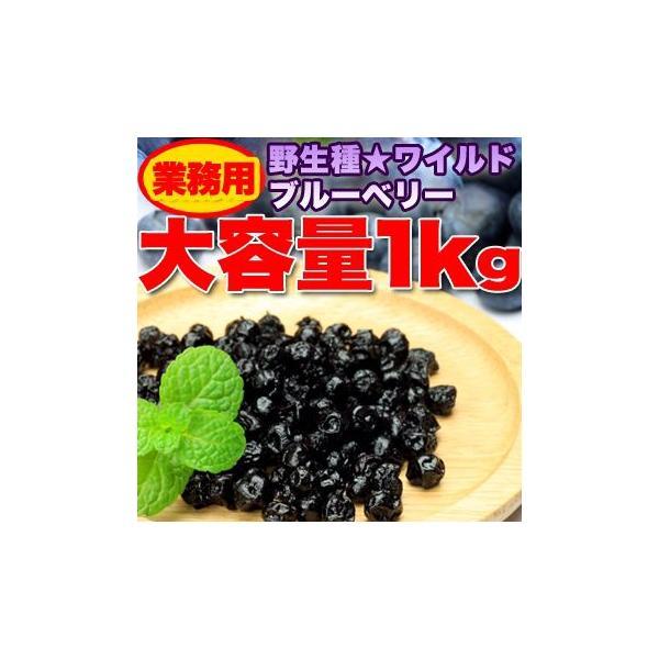 訳あり ドライフルーツ ブルーベリー 業務用 野生種 ワイルドブルーベリー大容量 約1kgセット