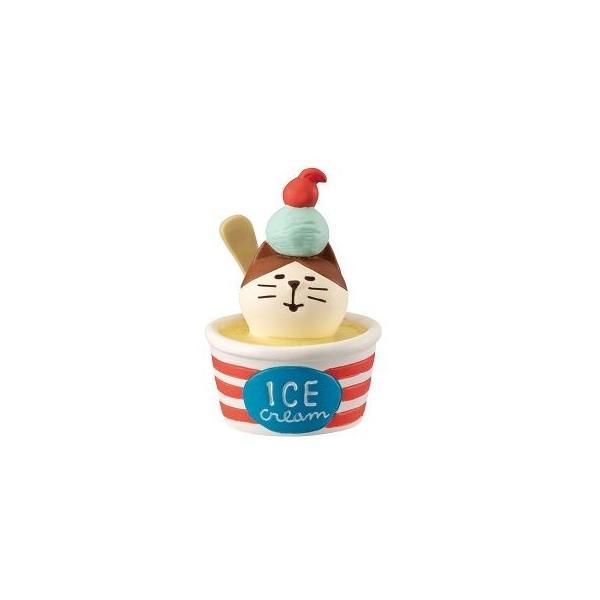 DECOLE concombre 冷え冷えカップアイス猫|zakkahibinene