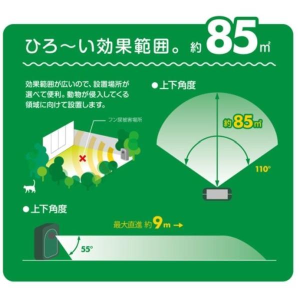 おくだけ庭ガード 超音波 猫よけ 鳥よけ鳩よけ ネズミ 駆除 鳥害対策 鳩 防鳥 ねこよけ 猫退治 撃退 充電可能!電池交換不要のソーラー式|zakkaichiban|05
