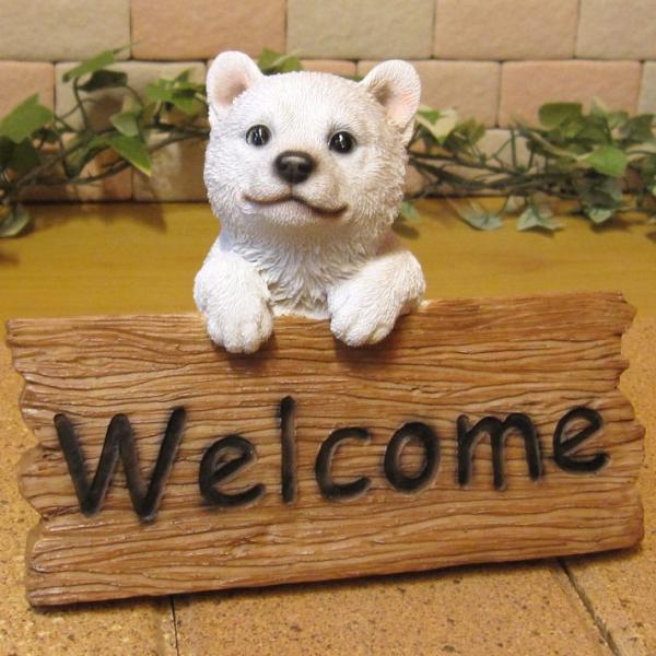 犬の置物 柴犬 秋田犬 北海道犬 ウエルカムボード 日本犬 リアルな犬の置物 子いぬのフィギア イヌのオブジェ ガーデニング 玄関先 陶器 zakkakirara 10