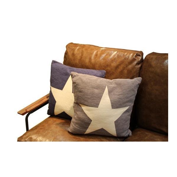 クッション カバーリング 45cm角 スター 星柄 ONE STAR クッション|zakkamag|03