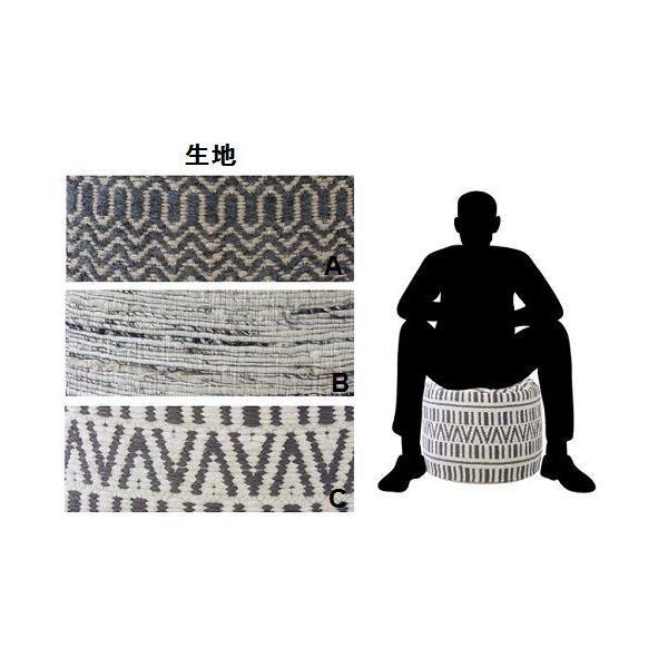 スツール 椅子 クッション おしゃれ オットマン インドスツール|zakkamag|03