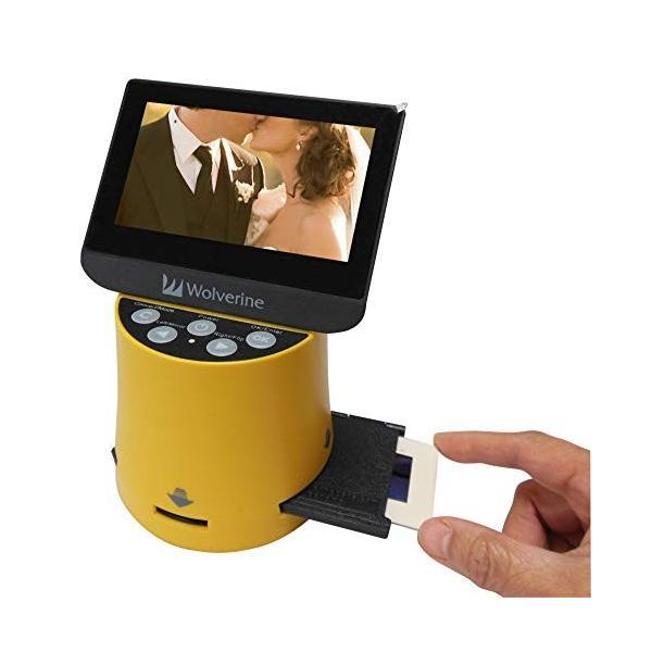 Wolverine フィルムスキャナー デジタルコンバーター TITAN 8イン1 高解像度 4.3インチスクリーン&HDMI 35mm 127フィル|zakkanoyamato|02
