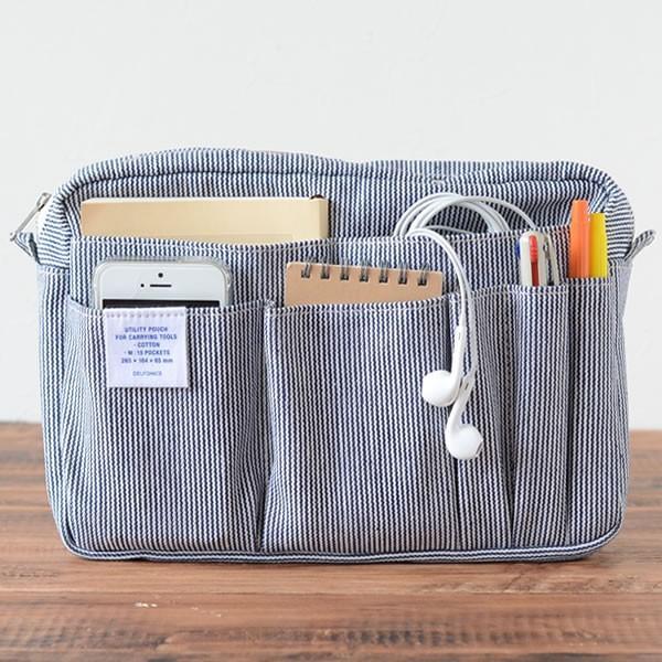 使いやすさがアップ! バッグの中がすっきり片付く「収納グッズ」