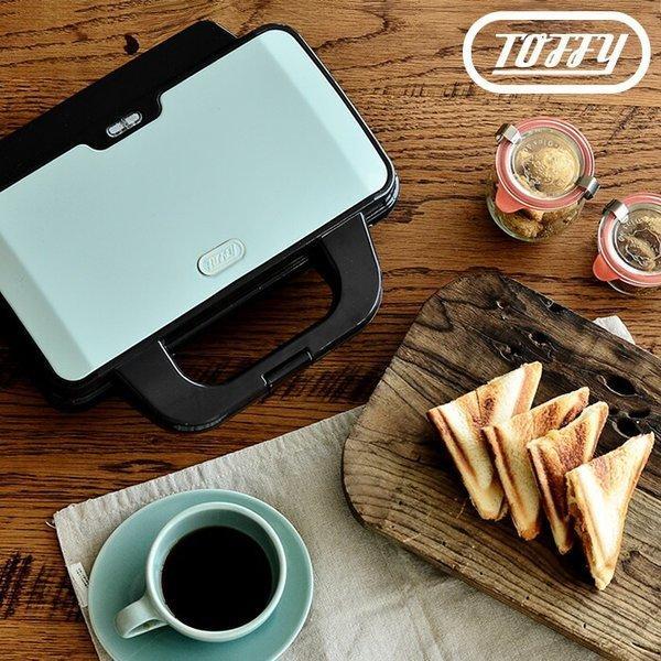 ToffyホットサンドメーカーK-HS1電気耳焼けるホットサンドダブル8枚切り10枚切り食パンおしゃれかわいいお手軽ギフトトフィ