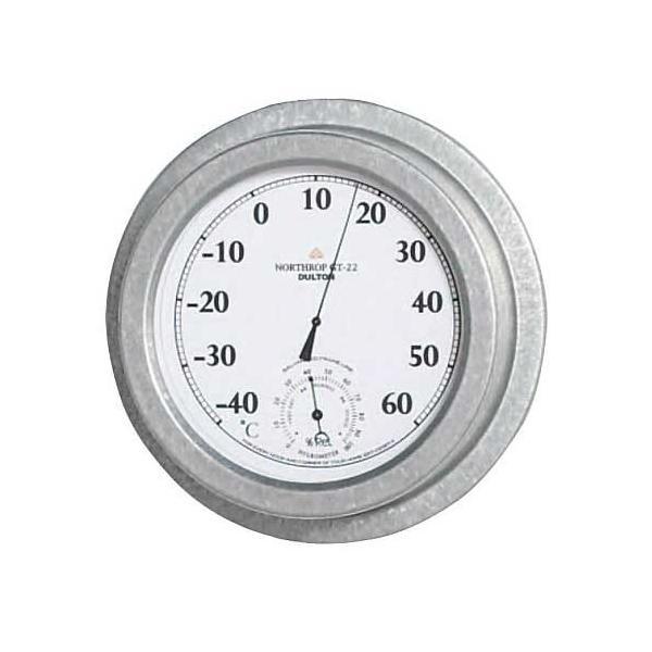 サーモ ハイグロメーター(ノースロップ GT-22) ダルトン DULTON 温湿度計 アナログ おしゃれ 壁掛け 湿温度計 アンティーク
