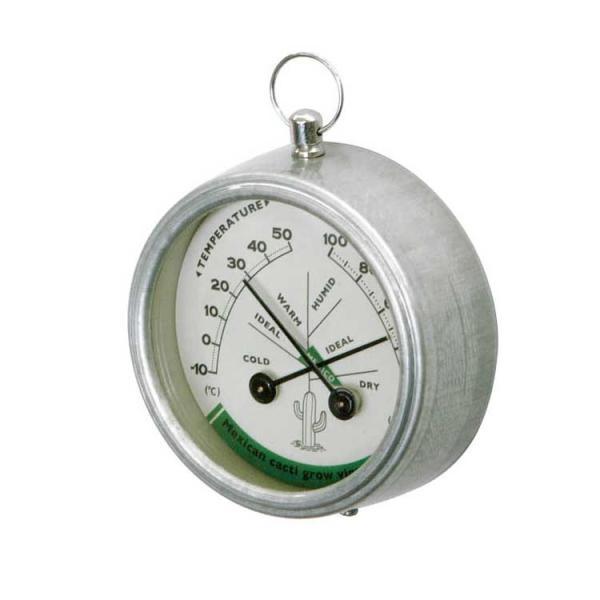 THERMO-HYGROMETER (MEXICO) ダルトン DULTON 温度計 湿度計 アナログ 壁掛け マグネット