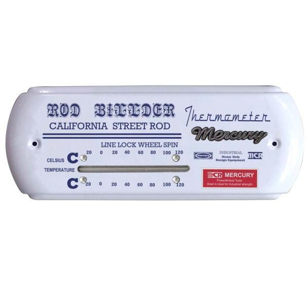 マーキュリー サーモメーター ワイド ホワイト MERCURY 温度計 アナログ おしゃれ 壁掛け 室温計 アンティーク