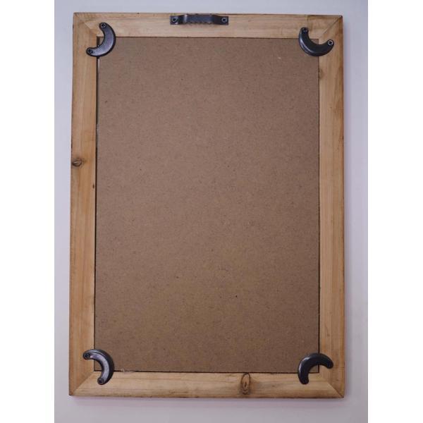 オールドルック フレームポスター ボタニカル A ポスターフレーム 壁掛け 木製 額縁 フレーム アンティーク zakkayafree 03