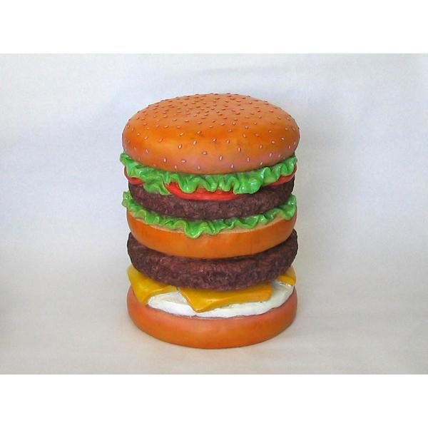 送料無料 おもしろ雑貨-チェアーイースね-ハンバーガー|zakkayafree