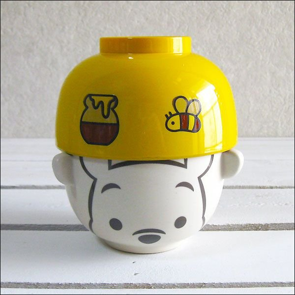 ディズニー飯碗セット ご飯茶碗 お茶碗 お茶わん お椀 汁碗 汁椀・茶碗セット ミニ_くまのプーさん