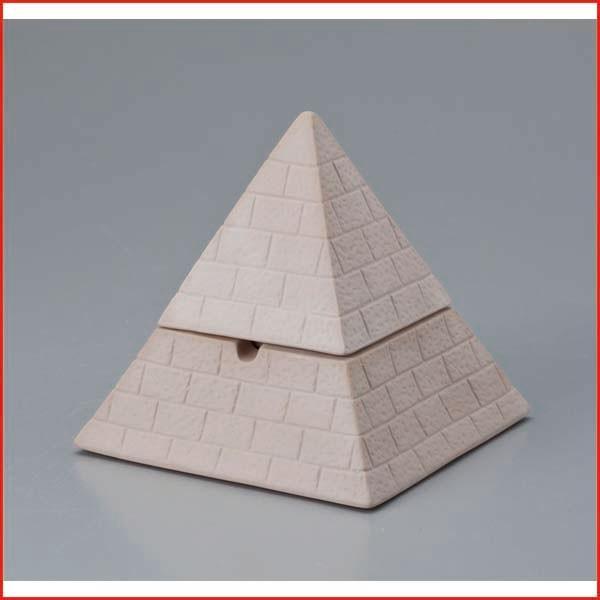 おもしろ雑貨 喫煙具 フタ付き ピラミッド灰皿