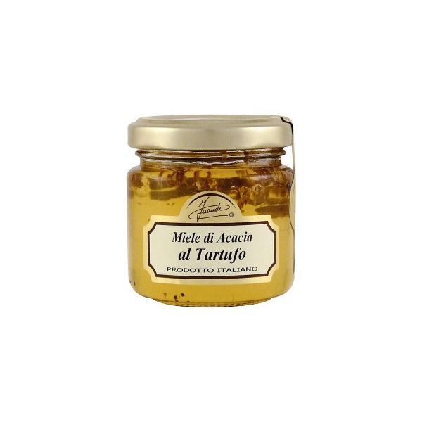 「送料無料」 イタリア INAUDI社 イナウディ 白トリュフ入り蜂蜜 120g T3 「同梱不可」 「代引不可」