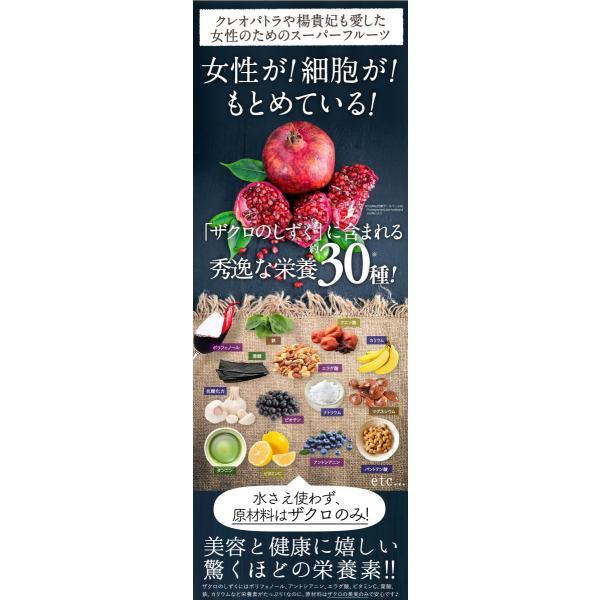 ざくろジュース ザクロのしずく スティックタイプ 20ml×15本入(12000円以上送料無料) ザクロジュース 冷え 免疫力  ザクロ酢 葉酸|zakuroya|13