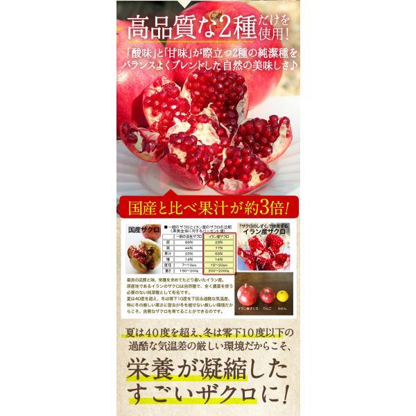 ザクロジュース 妊活 1本で約5L相当 無添加 無農薬 濃縮 ザクロエキス 100% ざくろジュース 石榴の滴 ザクロのしずく500ml (3本以上送料無料) 冷え 免疫力|zakuroya|18