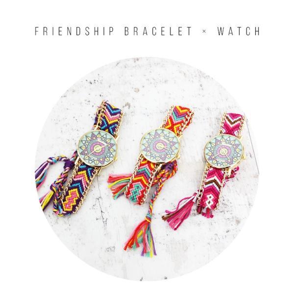腕時計 激安 可愛い レディース 欧米 ボヘミア 民族風 手作り シンプル 学生 人気 編み|zakzak|02