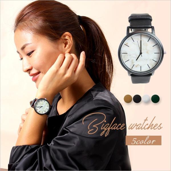 腕時計 レディース ペアウォッチ ウォッチ クォーツ時計 カジュアル 大理石 時計 石 激安 おしゃれ 可愛い 男女 ユニセックス ビッグ プレゼント|zakzak