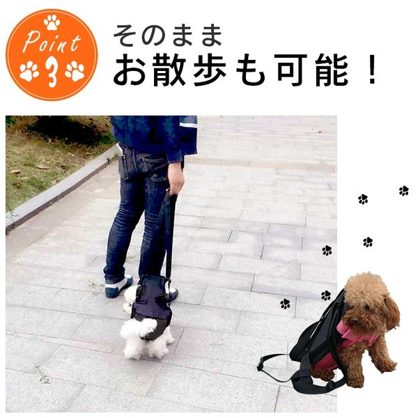 犬 抱っこひも ペット バッグ メッシュ 小型犬 大型犬 中型犬 おんぶ ペット用品 ペット用リュック 便利 お散歩 お出かけ ペット用品 猫 キャリーバッグ|zakzak|05