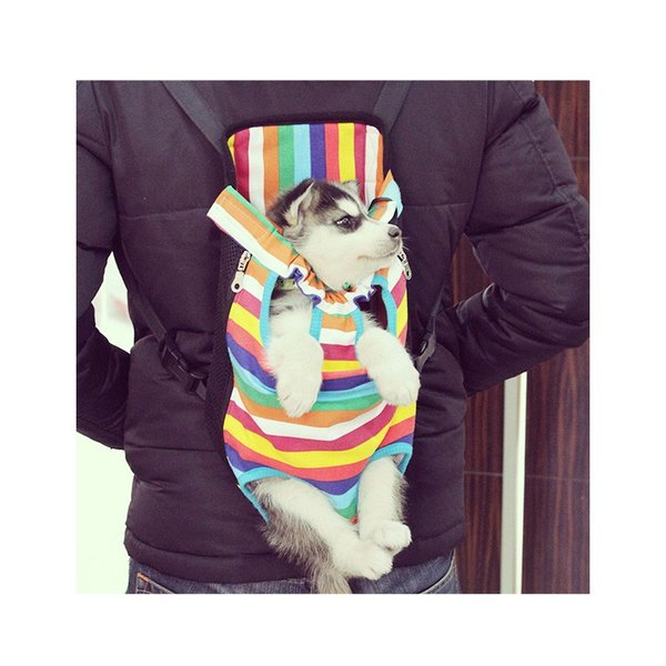 犬 抱っこひも ペット バッグ メッシュ 小型犬 大型犬 中型犬 おんぶ ペット用品 ペット用リュック 便利 お散歩 お出かけ ペット用品 猫 キャリーバッグ|zakzak|09