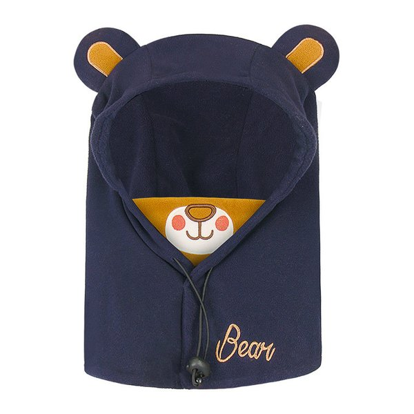 キッズ 帽子 ニット帽子 冬 子供 防寒 耳当て付き あったかい 女の子 男の子 首保護 韓国風 ブルー ピンク コーヒー 防風 調節ボタン付き マスク付き|zakzak|13