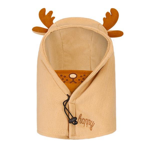 キッズ 帽子 ニット帽子 冬 子供 防寒 耳当て付き あったかい 女の子 男の子 首保護 韓国風 ブルー ピンク コーヒー 防風 調節ボタン付き マスク付き|zakzak|15