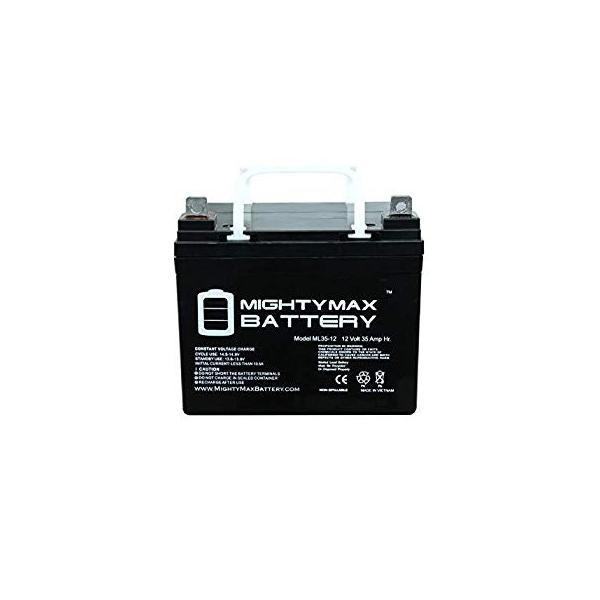 4 Pack Brand Product Mighty Max Battery 12V 35Ah Best Technologies BESTRBC34 BESTRBC48 FE500VA Battery