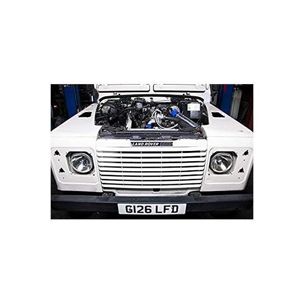CXRacing Intercooler Piping Intake Radiator Fan Shroud Kit For Land Ro|zappinya|11