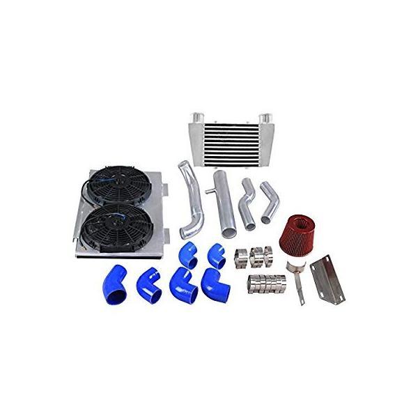 CXRacing Intercooler Piping Intake Radiator Fan Shroud Kit For Land Ro|zappinya|14
