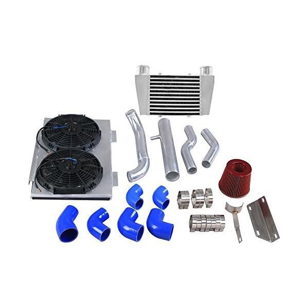 CXRacing Intercooler Piping Intake Radiator Fan Shroud Kit For Land Ro|zappinya|04