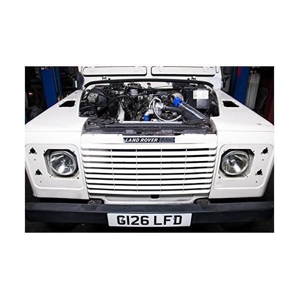 CXRacing Intercooler Piping Intake Radiator Fan Shroud Kit For Land Ro|zappinya|05