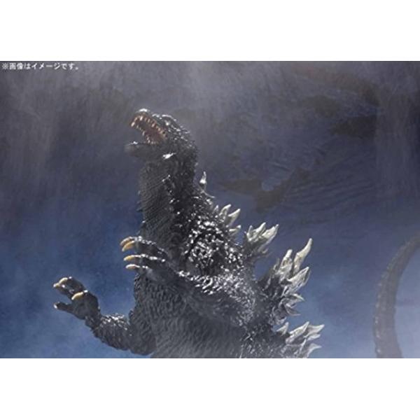 S.H.MonsterArts ゴジラ×メカゴジラ ゴジラ 2002 約155mm PVC&ABS製 塗装済み可動フィギュア7