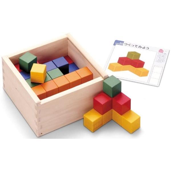 図形キューブつみき[KTEC-cTOTC-ds-1108122](サイズ:2.5cm角)|zebrand-shop