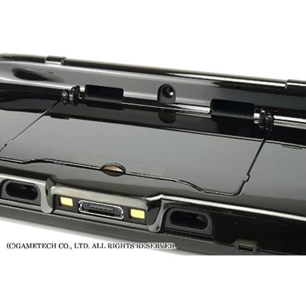 WiiU用ゲームパッド保護カバークリスタルシェルU クリアブラック(クリアブラック) zebrand-shop 11