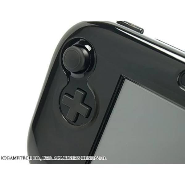 WiiU用ゲームパッド保護カバークリスタルシェルU クリアブラック(クリアブラック) zebrand-shop 07