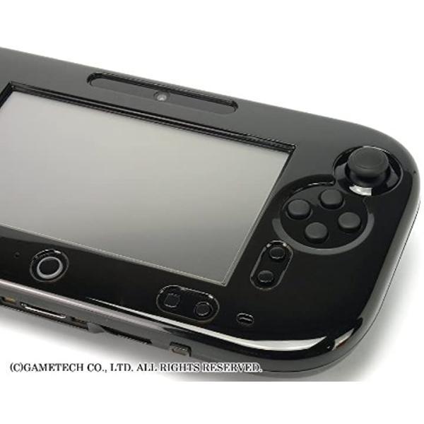 WiiU用ゲームパッド保護カバークリスタルシェルU クリアブラック(クリアブラック) zebrand-shop 08