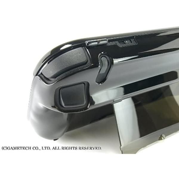 WiiU用ゲームパッド保護カバークリスタルシェルU クリアブラック(クリアブラック) zebrand-shop 09