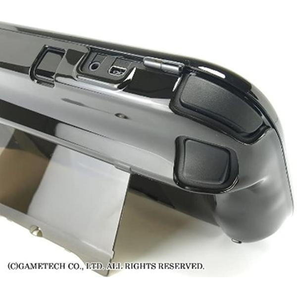 WiiU用ゲームパッド保護カバークリスタルシェルU クリアブラック(クリアブラック) zebrand-shop 10