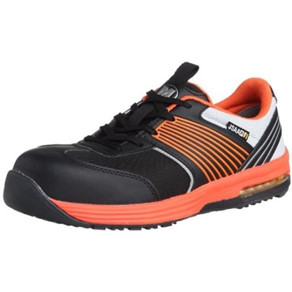 作業靴 スニーカー ISA801 静電 オレンジ/26.0[ISA801 静電](オレンジ, 26.0 cm)