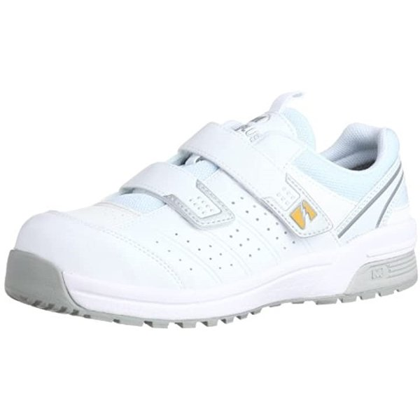 作業靴 スニーカー MPN305 静電 ホワイト/28.0[MPN305 静電](ホワイト, 28.0 cm)