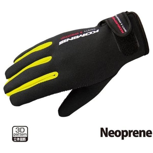 バイクグローブ ネオプレーングローブ レッド 2XL GK-753[06-753](XXL)|zebrand-shop
