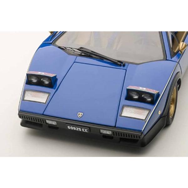 AUTOart 1/18 ランボルギーニ カウンタック ウォルター・ウルフ ブルー 完成品9