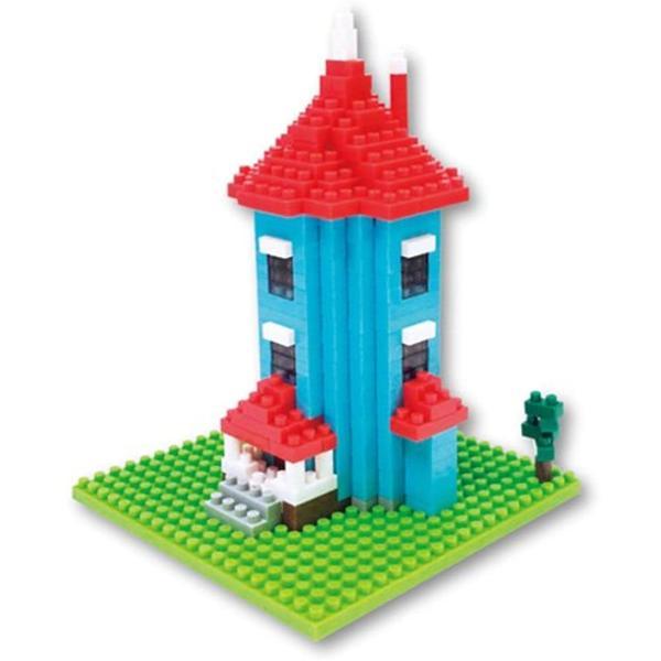 ナノブロック ムーミンハウス1