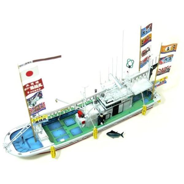 1/64 漁船 No.01 大間のマグロ一本釣り漁船 第三十一漁福丸 喫水線モデル3