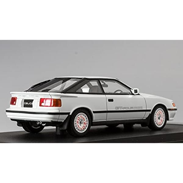 ホビージャパン MARK43 1/43 トヨタ セリカ GT-FOUR ST165 1987 スポーツホイール スーパーホワイトII 完成品1
