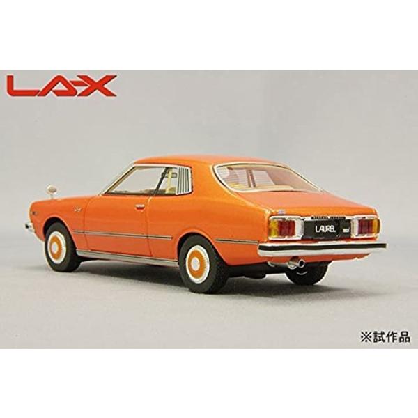 LA-X 1/43 日産 ローレル 2ドアハードトップ 2800 メダリスト 1978 オレンジメタリック 完成品2