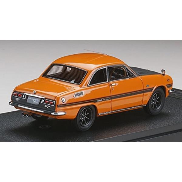 MARK43 1/43 いすゞ ベレット GT タイプR PR91W スポーツホイール メープルオレンジ 完成品[PM4314SP]|zebrand-shop|02