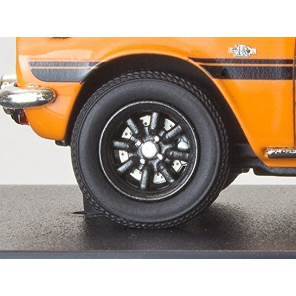 MARK43 1/43 いすゞ ベレット GT タイプR PR91W スポーツホイール メープルオレンジ 完成品[PM4314SP]|zebrand-shop|03