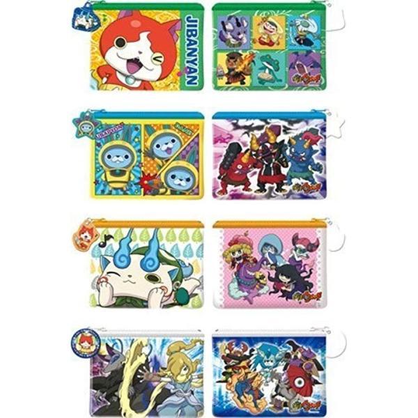 妖怪ウォッチ キャラポーチコレクション4 Box商品 1box8個入り全4種類