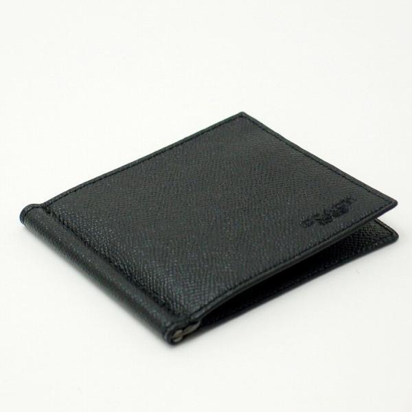cd748a4f6c62 ... コーチ COACH メンズ 二つ折り財布 カードケース マネークリップ 23847BLK|zeitakuya| ...