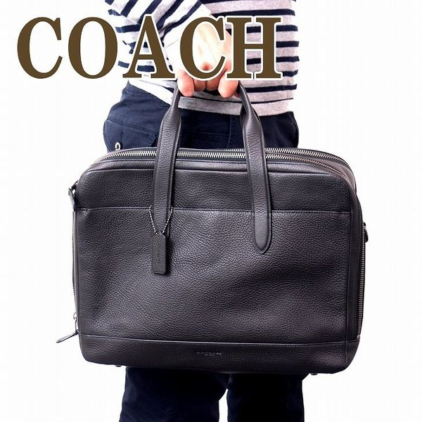 18923d50238c コーチ COACH バッグ メンズ トートバッグ ビジネスバッグ ブリーフケース 2way ショルダーバッグ 27617QBBK|zeitakuya  ...